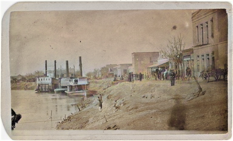 The Brownsville Levee as a port city