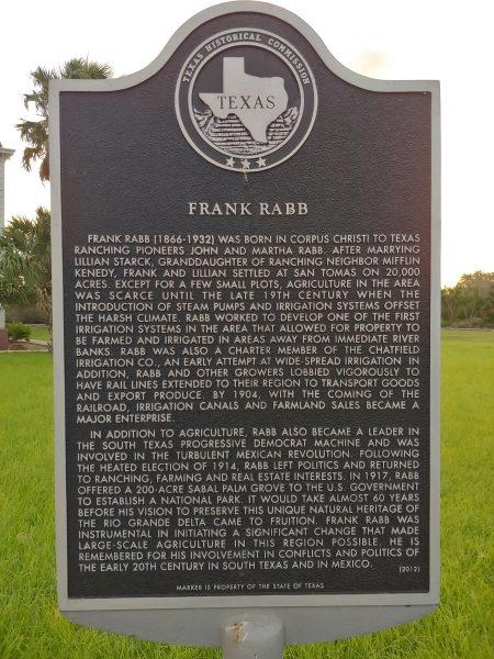 Rabb Historical Marker