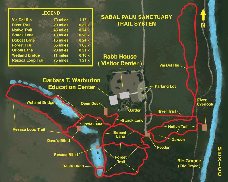 Sabal Palm Trail Map